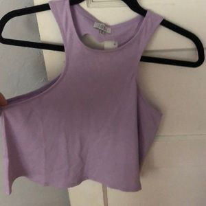 Lilac/light purple tank top